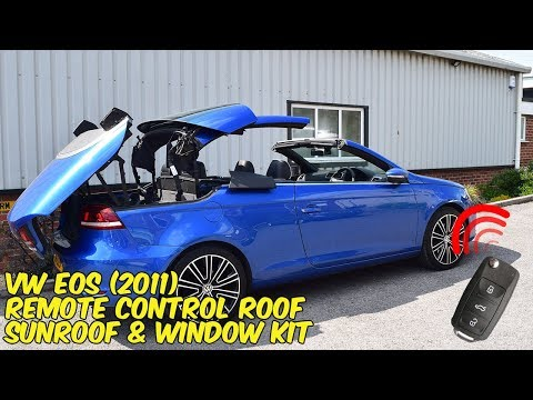 VW EOS Cabriolet Remote Roof Open & Close Kit