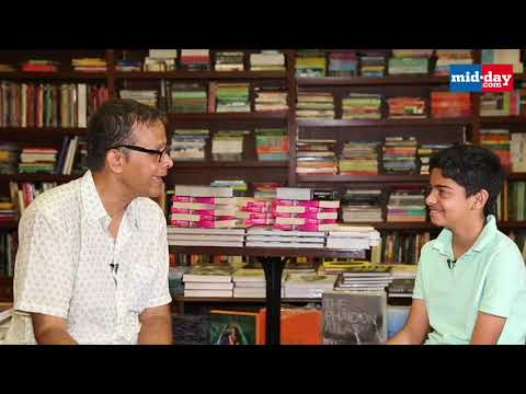 12-year-old boy interviews award-winning author Jerry Pinto | Postcards from Bombay