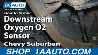 How to install upstream o2 oxygen sensor 2000 06 chevy suburban 53l how to install replace downstream oxygen o2 sensor 2000 06 chevy suburban fandeluxe Image collections