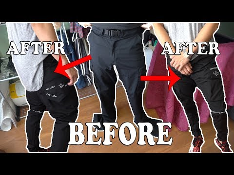 ✂ BAGGY CARGOPANTS TO CARGO TECH PANTS, POCKETS FOR DAYS | | Let's SEW S3, EP 6