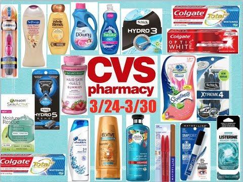 Plan de ofertas CVS 3/24-3/30 muchas ofertas🔥🔥