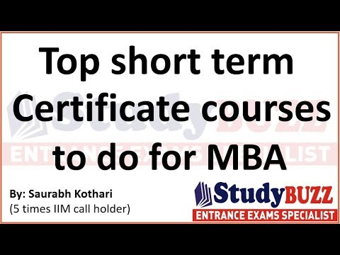 Top certificate courses in Marketing, HR, Finance & Analytics | Free ...