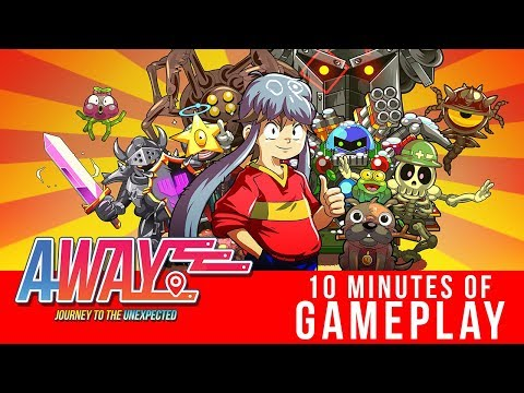 AWAY: Journey to the Unexpected - 10 minutes of Gameplay thumbnail