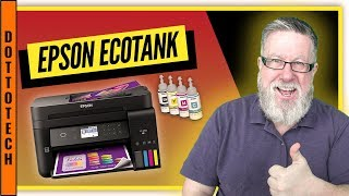 Epson Ecotank - 1 year of printing on a single refill!