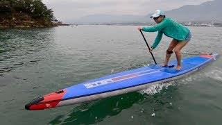 """Starboard Unlimited FLATWATER Airline 18'0""""×27"""" TEST RIDE."""