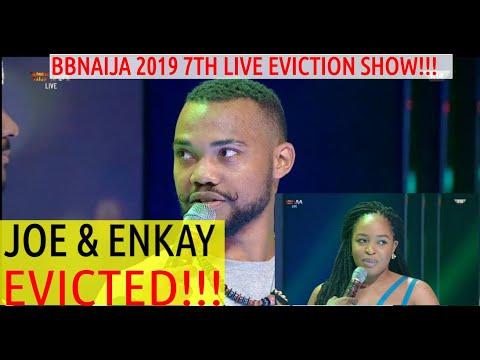 BBNaija 2019 7TH LIVE EVICTION SHOW | JOE AND ENKAY EVICTED | EBUKA TACKLE TACHA AGAIN | CINDY SAVED