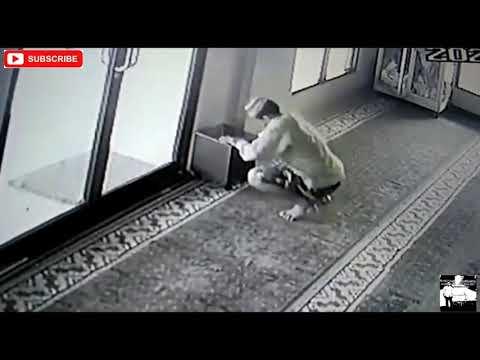 Terkam CCTV, Maling Kotak Infaq Ini Gagal Lakukan Aksi Jahatnya di Masjid