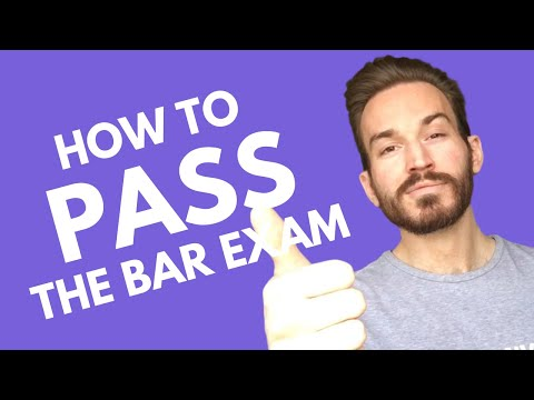 How to Pass the Bar Exam: Study Less, Practice More - YouTube