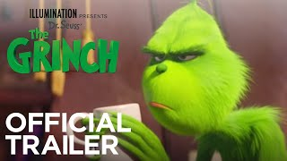 Бенедикт Камбербэтч, The Grinch - Official Trailer