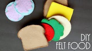 DIY Felt Food - Gift Idea For Kids