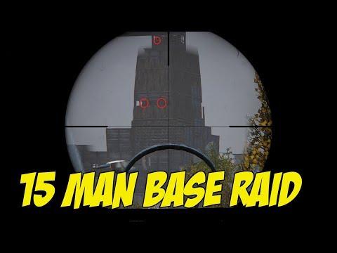 DAYZ STANDALONE - BASE RAID