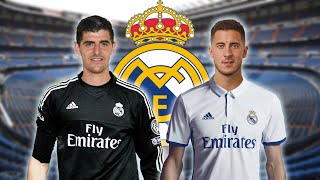 Real Madrid Transfers: Courtois And Hazard In Double Raid?