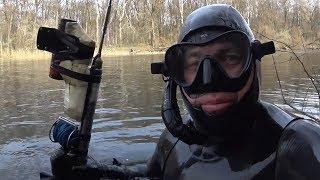 Рыбалка на устье камы в марте 2020