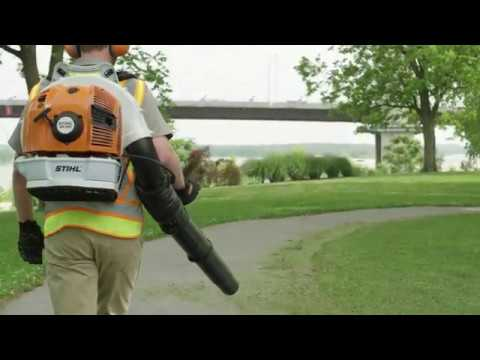 Stihl BR 700 in Jesup, Georgia - Video 2