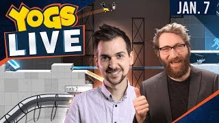 Steamy Sunday - Bridge Constructor Portal w/ Lewis & Tom - 7th January 2018