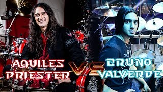 Aquiles Priester & Bruno Valverde - Angra Angels and Demons