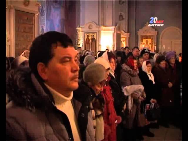 Ангарчане встретили Рождество