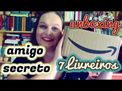 AMIGO SECRETO 7LIVREIROS | ENTRE LETRAS E LINHAS