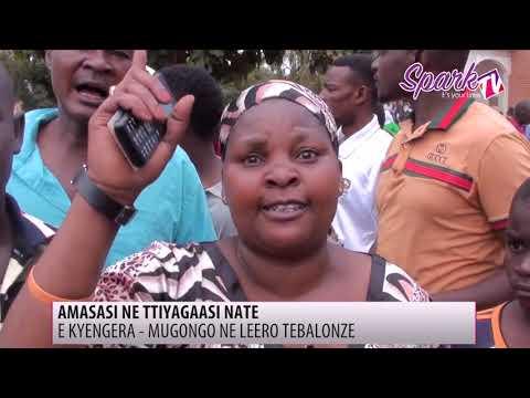 Amasasi mukulonda e Kyengera Mugongo
