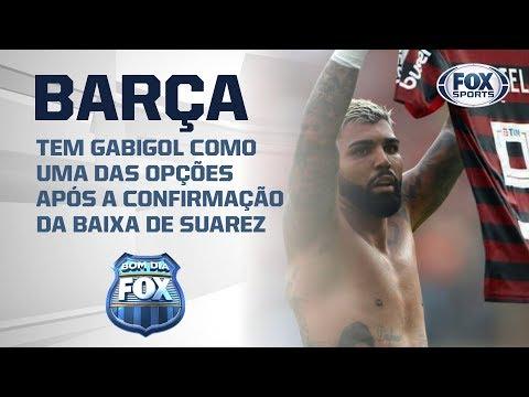 Gabigol entra na mira do Barcelona