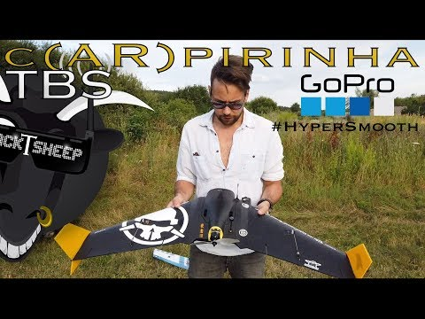 tbs--carpirinha--6s-arwing--caipirinha--team-blacksheep--hypersmooth-fpv-wing