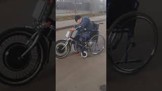 Самоходный модуль для инвалидных колясок