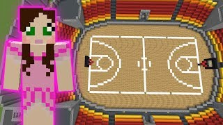 Minecraft: BASKETBALL GAME! - HEAD HUNTER THEME PARK [10]