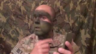 Camo Face Paint - How To Apply Correctly