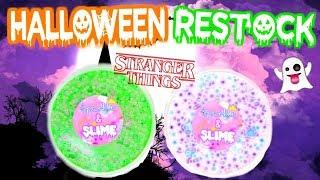 Slime Shop Restock October 9th 2017! (Halloween Slimes!)