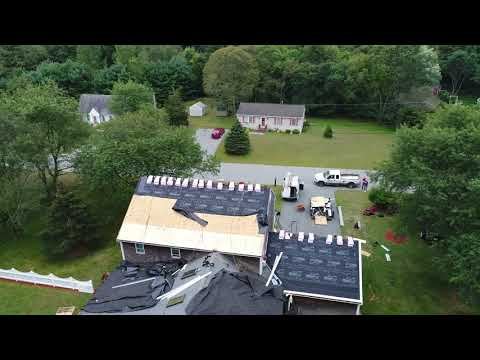 The homeowner hired Couto Construction to build a new roof, and was extremely happy with the results.