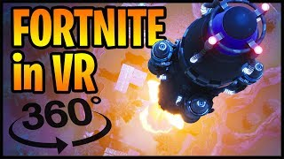 Fortnite INSANE Rocket Launch in 360° VR (360 video) cinematic