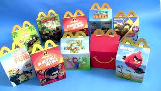 30 HAPPY MEAL TOYS SURPRISE from McDonalds for Kids