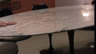 Tulip Table And Tulip Chair By Eero Saarinen From Find Me The Original
