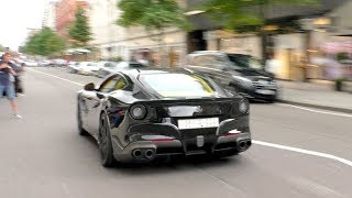 The LOUDEST STRAIGHT PIPED Ferrari F12 to ever hit the streets of London!
