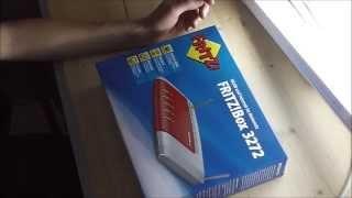 FritzBox 3272 Kaufempfehlung unboxing deutsch