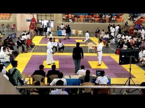 khel mahakumbh 2016 karate kumite