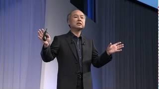 Softbank 孫正義講演 world 2018 AI 保険、医療について