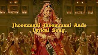 Jhoommani Jhoommani Aade Song Lyrics   - YouTube