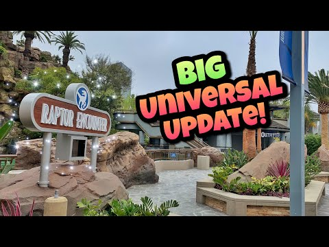 Jurassic World Ride, HHN and more! | Universal Studios Hollywood Update (2019)