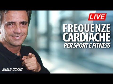 Frequenza cardiaca ed allenamento con il cardiofrequenzimetro.