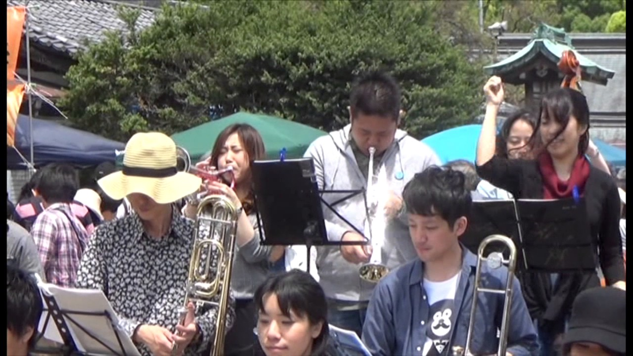 In the mood(Alley Cats Big Band)杜の宮市 2017.5.7