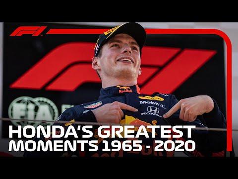 F1から撤退が決定したホンダ。ホンダがF1で成し遂げてきたレースシーンをあつめたダイジェスト映像