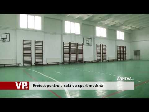 Proiect pentru o sală de sport modrnă