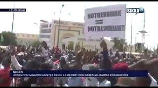 NIGER / FRANCAFRIQUE : MOBILISATION D'URGENCES PANAFRICANISTES