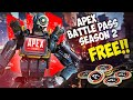 HOW TO GET FREE APEX COINS IN APEX LEGENDS - HOW TO GET APEX SEASON 2 BATTLE PASS FOR FREE!!!