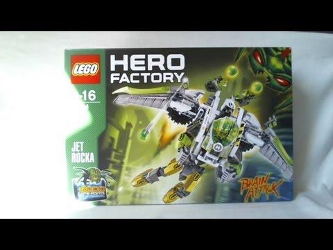 Vidéo LEGO Hero Factory 44014 : Jet Rocka