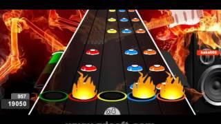 Guitar Flash Custom - OP Naruto 16 Silhouette by kana boon 100% FC Expert (42.176)
