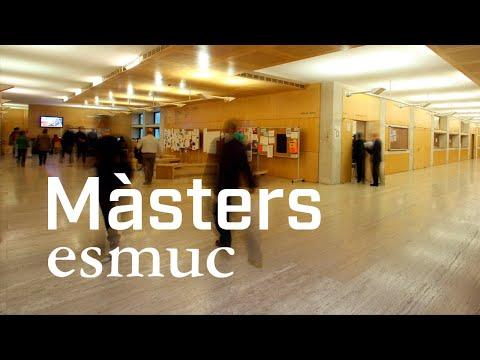 Video Youtube Escola Superior de Música de Catalunya