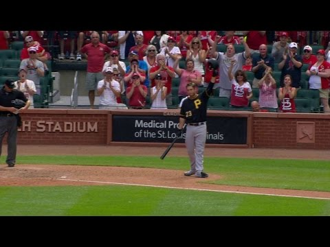 Download PIT@STL: Cardinals Fans Cheer Freese In Return HD Mp4 3GP Video and MP3