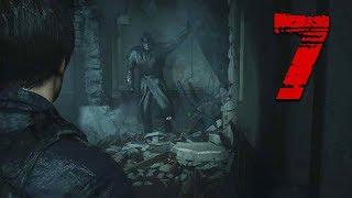 The TYRANT Crashes The Party! - Resident Evil 2 Remake Full Walkthrough Part 7 (RE2 Leon)